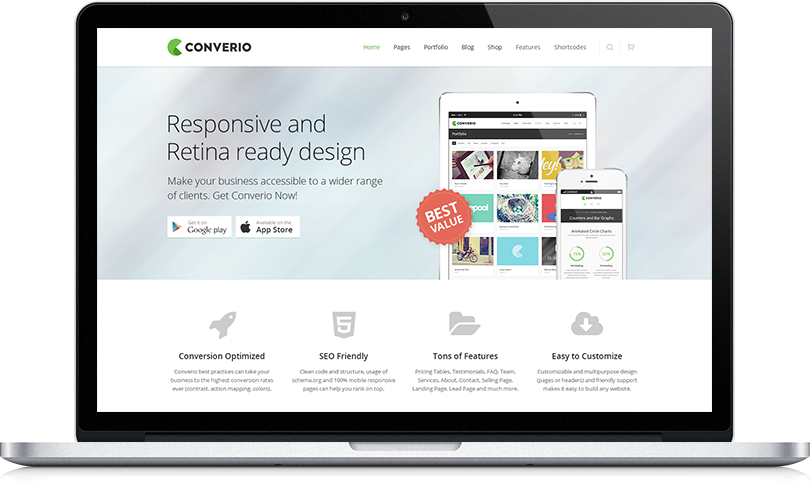 Great Company Website